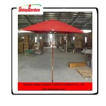 High Quality 8 Ribs Wooden Poles Foldable Garden Beach Umbrella, Wooden Umbrella Frames