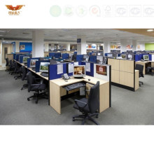 Morden Office Call Center Modern Office Furniture Cubicle Workstation (HY-243)