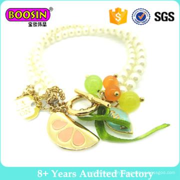 Summer-Like Fashion Pearl Bracelet for Girls