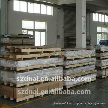 LKW-Karosserie-Anwendung 5052 H32 Aluminium-Plattenhersteller