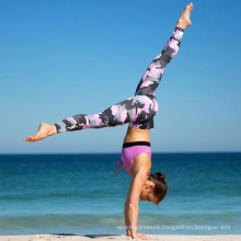 Camouflage Yoga Pants Fitness Leggings (3067)