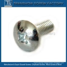 Mild Steel Galvanized Cross Recess Pan Head Screw