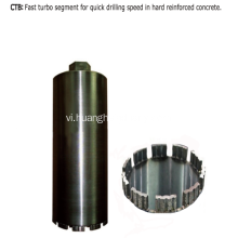 Diamond Core Bit (Phân đoạn Turbo)