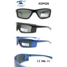 PC nuevas promocionales coloridas hermosas 2015 gafas de sol para niños (kdp026)