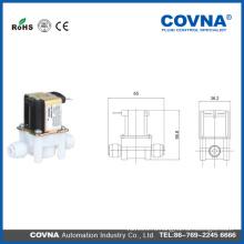 Пластиковый 12V Маленький соленоидный клапан для питьевой машины
