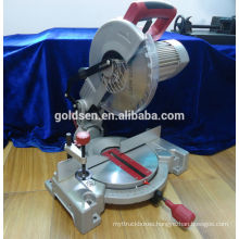 255mm 1800w Long Life Induction Motor Aluminum/Wood Cutting Cut Off Miter Saw Machine Portable Power Electric Saw Prices GW8019