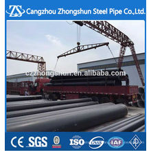 3PE Coated SSAW Steel Pipe/ Spiral Welded Steel Pipe
