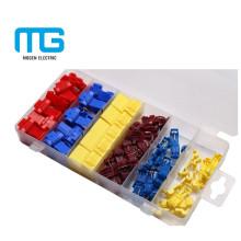 Colorido diferentes tipos de kits de surtido de terminales por Asamblea conveniente