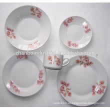 Jarras de porcelana de porcelana china de forma redonda de 30 piezas