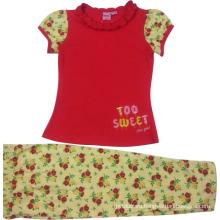 Summer Kids Baby Girl Suit in Children Clothing