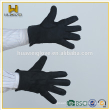 Gants en cuir de suède à crampons moutonnants de haute qualité à prix abordable, gants en cuir pour homme à double face