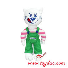 Stuffed Cartoon toy cat