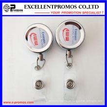 Atacado retrátil cartão de identificação Badge bobinas com epóxi Logo (EP-BH112-118)