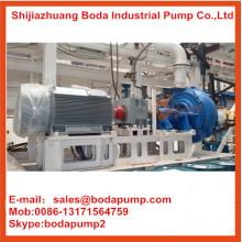 Pompe centrifugée à la lisière