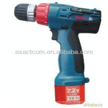 Taladro para herramienta eléctrica BC7RL 7.2V BX7001 1.5AH NI-CD
