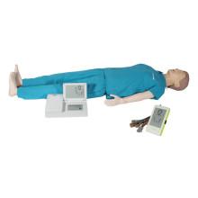 Mannequin médical d'entraînement humain à la RCR à vendre