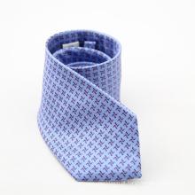 Narrow de alta qualidade gravatas Polka Dot Mens gravata magro