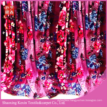 wholesale 100% polyester printed fabric flannel