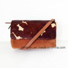 Ahora señoras modelo piel de piel de cuero Bolsos (NMDK-052301)