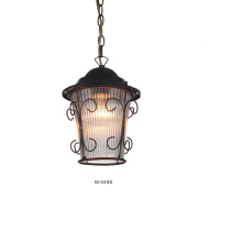 Restoration European Iron Chandelier Pendant Lamp (M-049S)