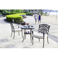 Beliebte Patio Wasserdichte dekorative Metall Outdoor-Möbel