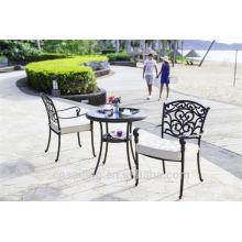 Cheap Patio Waterproof Cast Aluminum Garden Chairs