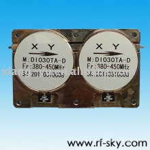 150W 300-500MHz 40dB 1.2 VSWR Dual drop in isolator