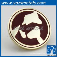 Kundenspezifisches Metallabzeichen, Reversstiftfabrik nahe Shanghai