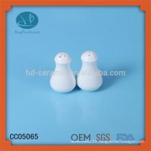 wholesale Ceramic salt and pepper shaker,popular salt and pepper shaker for hotel