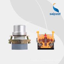 Bouton-poussoir de verrouillage Saipwell haute qualité à deux positions / bouton-poussoir LAY50D-22AA1-Y