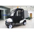 2 мест электрический гольф тележки с кабиной багги коммунальные машины Электрический автомобиль