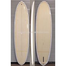 2016 горячей!!!! Бамбук шпон эпоксидной смолы стеклоткани затвора sup доски /деревянные доски для серфинга