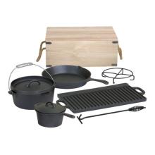 Pre-Seasoned Cast Iron Cookware Sets