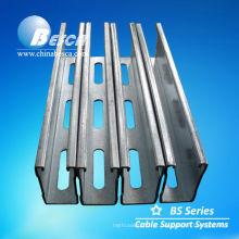 Aço de canal de lábio galvanizado (UL, GV, IEC e CE)