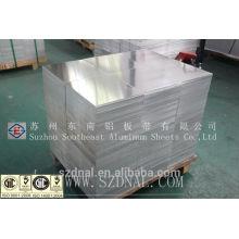 Rutina laminada en caliente 3003 H14 hoja de aluminio delgada fabricante