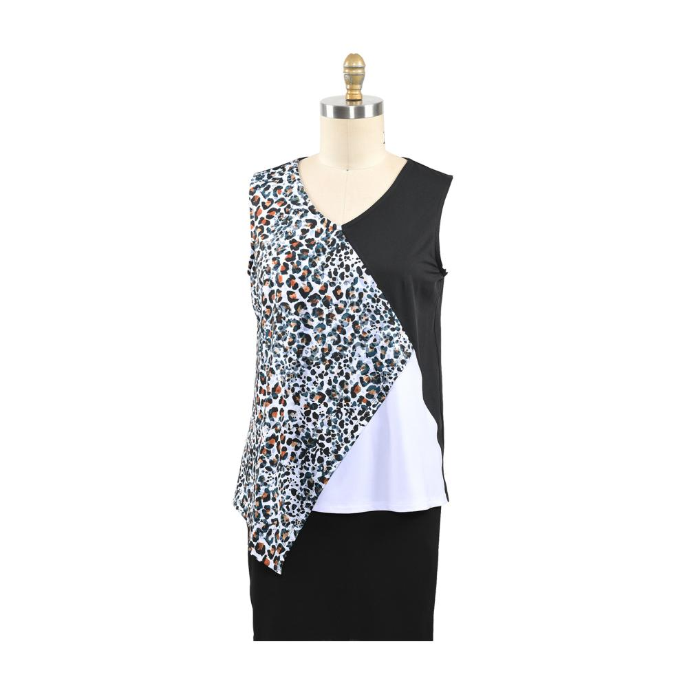 ladies knitting vest