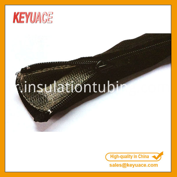 Black Braided Cable Sleeving