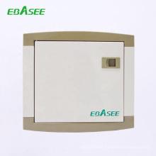 CE SGS certificated distribution box DP 125A 4 way 6 way 8 way main switch