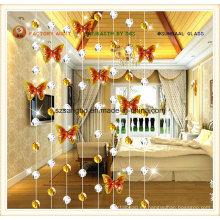 Moda la cortina para la cortina de cristal decoraciones Deco