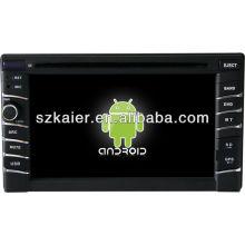 Android System Auto DVD-Player für Universal 1 mit GPS, Bluetooth, 3G, iPod, Spiele, Dual Zone, Lenkradsteuerung