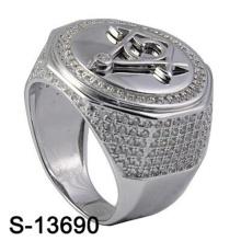 Haute Qualité Bijoux Fantaisie Bague Argent 925