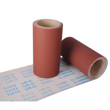 Hand Use Aluminum Oxide Emery Cloth Tj113