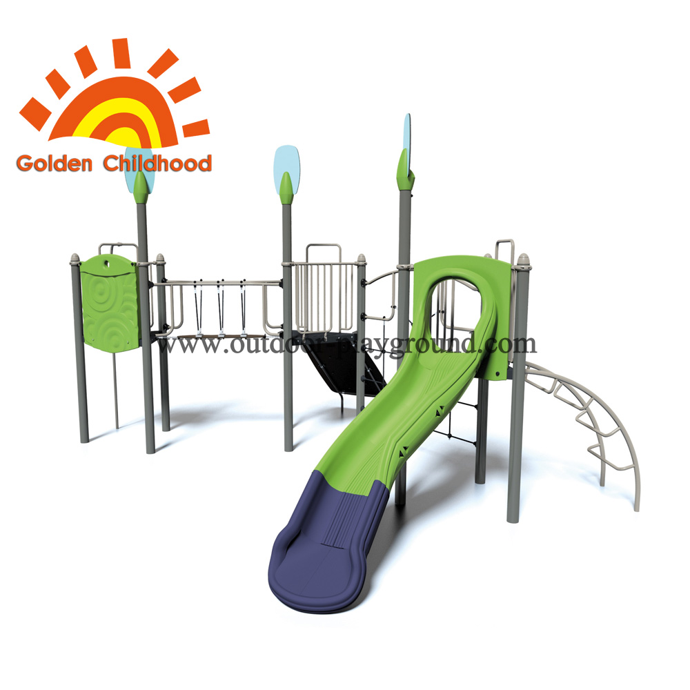 Slide In Park Outdoor Playground Equipment For Children