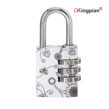 Colorful Aluminum Alloy Combination and Code Padlock