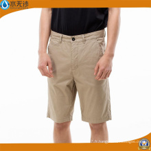 Short de cargo en coton à manches courtes pour hommes