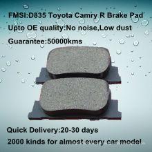 OE Qualität Heck Auto Toyota Camry Bremsbelag D835