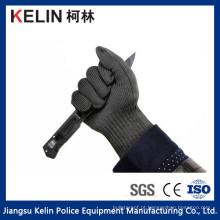 Luvas de malha de aço inoxidável anti-corte de defesa de corte (KL-008G)