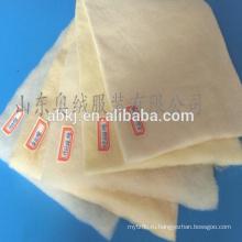 100% тепловой мериносовой шерсти волокна ватин/текстиль ватин /прокладка