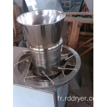 Revolving extrudeuse granulation machine