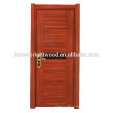 Porta de madeira da melamina do estilo aberto do balanço da forma